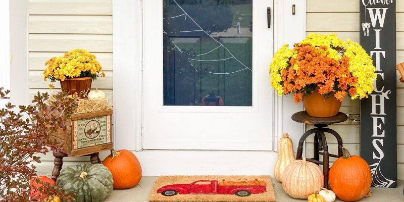 Our Fall Front Porch: Festive Ideas to take your Porch to the Next Level